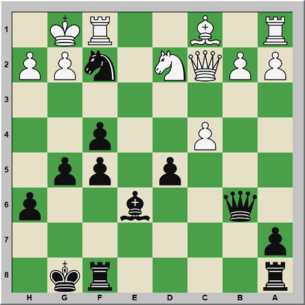 Mate 284 Mac Connel – Morphy