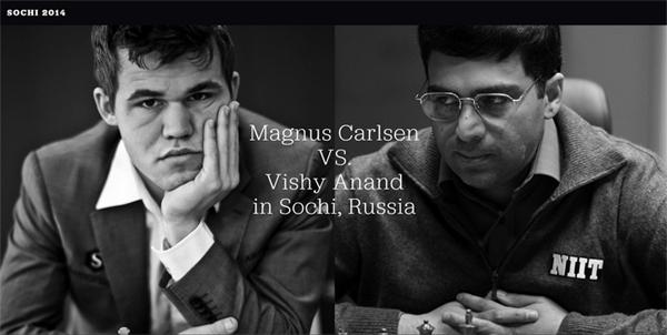 Campeonato del Mundo 2014 - Carlsen vs. Anand